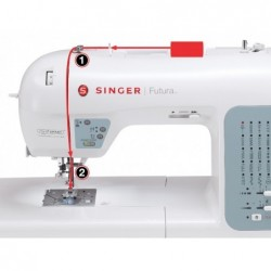 Singer Futura XL 400 Used...