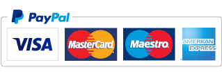 Secure payment with your PayPal account or your payment card